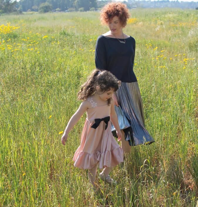 שמלות אביביות, משובבות ומסתובבות