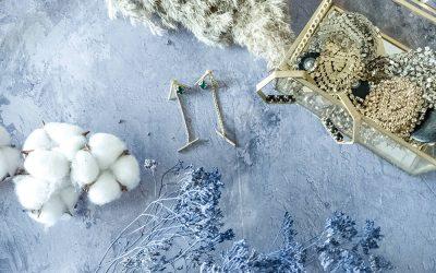 שני זוגות עגילים של המעצב הכשרוני דריוס Darios